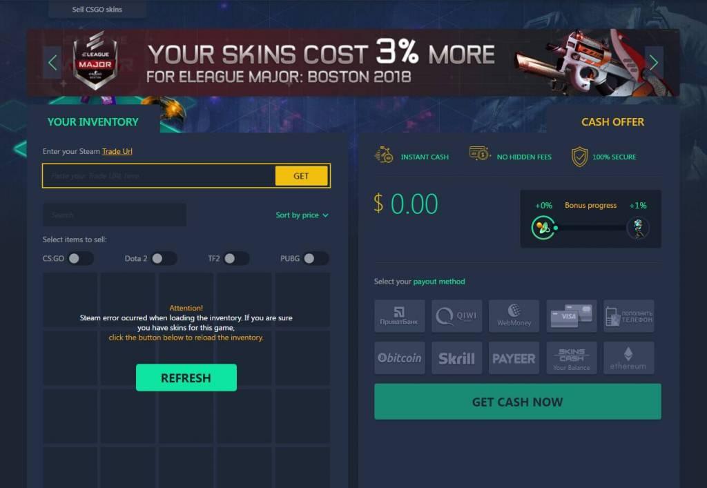 Skins.Cash Legit