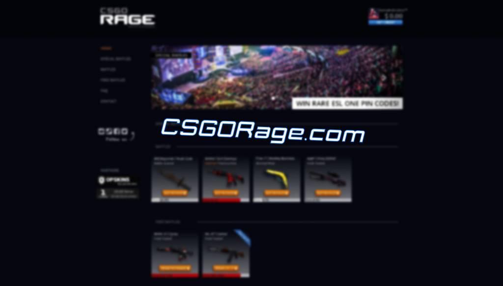 gamble on csgorage.com