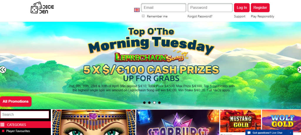 Big dollar casino welcome bonus