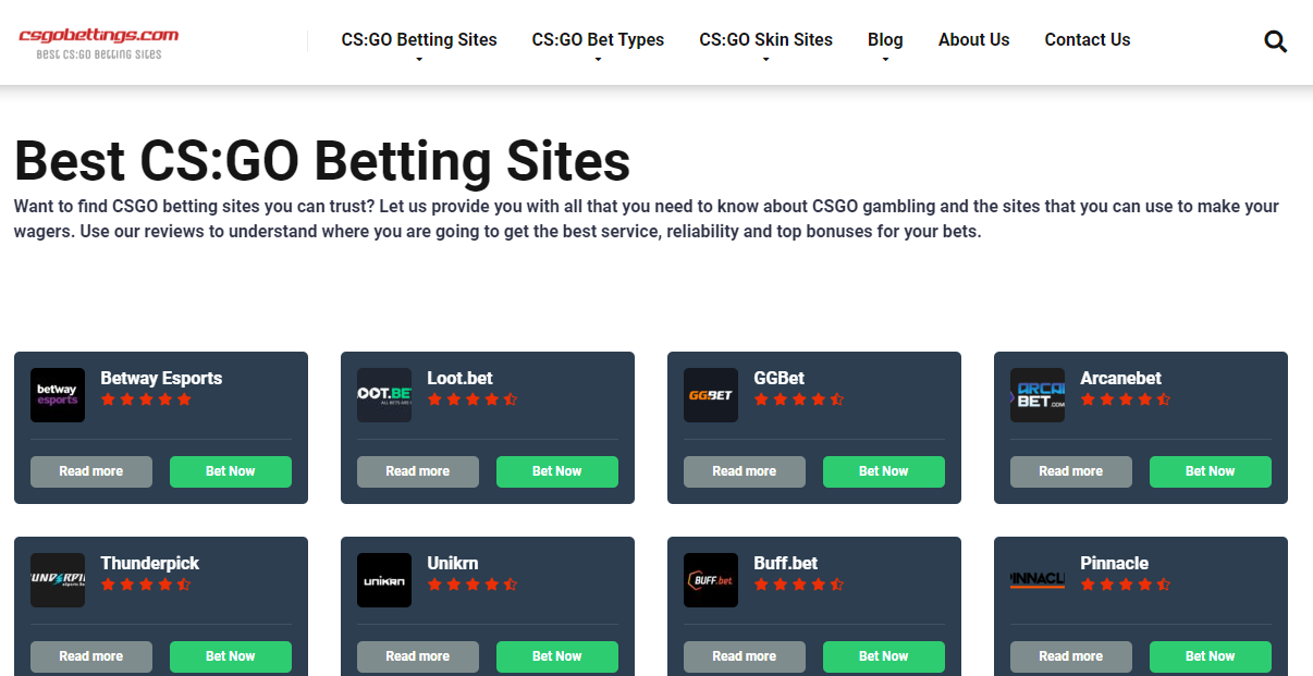 from rags to riches csgo betting list