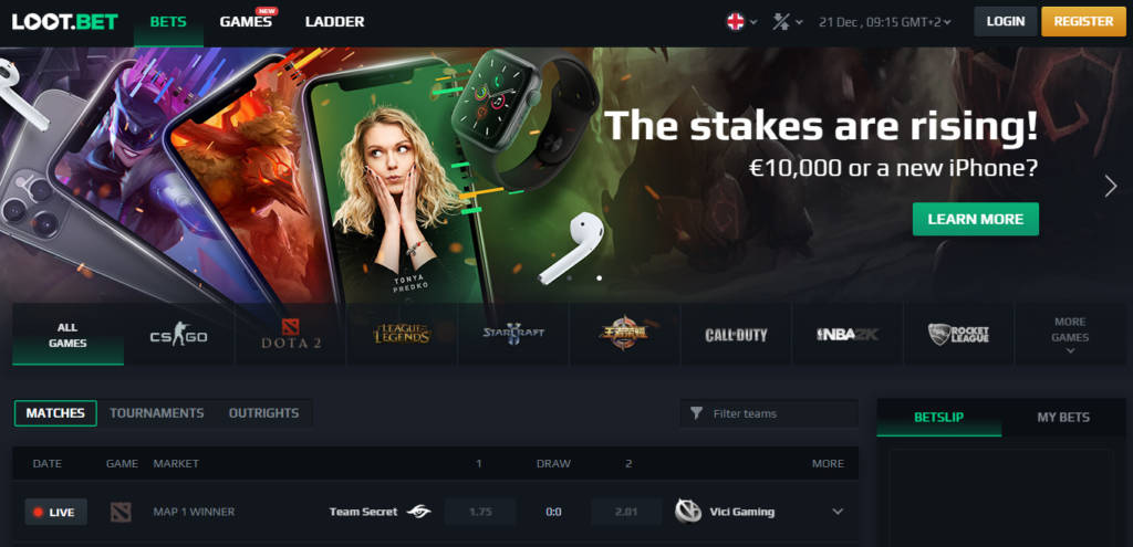 loot bet review