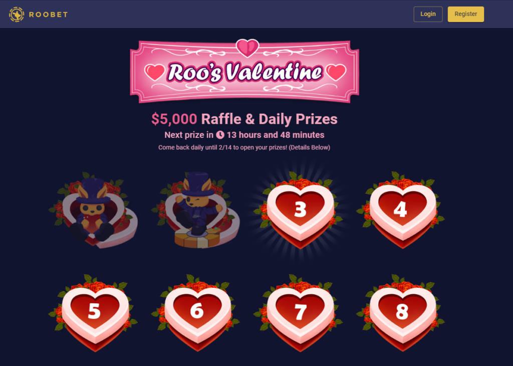 Roobet.com - 00 Daily Prizes